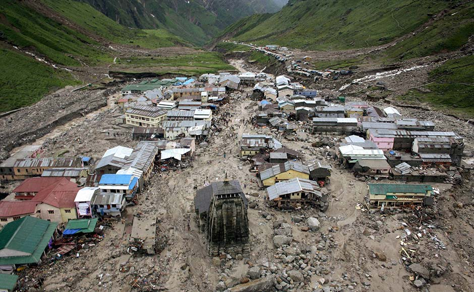 nine factors that caused flash floods in uttarakhand action wanted